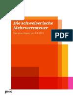 Pwc Die Schweizerische Mehrwertsteuer 11 d