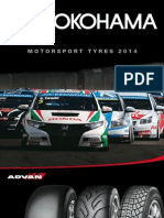 YOKOHAMA Motorsport Tires Catalogue 2014