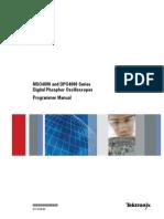 MSO4000 DPO4000 Programmer Manual 077 0248 00