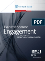 PMI Pulse Executive Sponsor Engagement