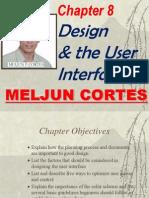 MELJUN CORTES Multimedia Chapter8 Design User Interface