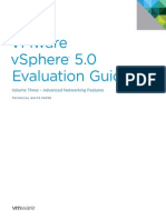 VMware VSphere Evaluation Guide 3 Advanced Networking