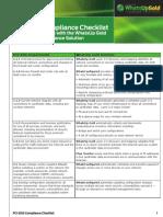 PCI Checklist