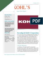 kohls financial newsletter final pdf