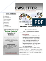 ALOC Newsletter January 2010