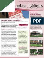 Hopkins Highlights - December 2014