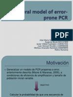 A General Model of Error-prone PCR