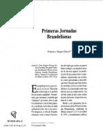 Reseña de Primeras Jornadas Braudelianas