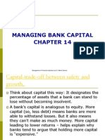 MANAGING BANK CAPITAL