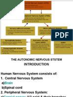 Lecture-13- The Autonomic Nervous System- Organization -Nov 2009