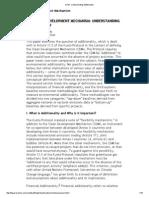 CDM_ Understanding Additionality