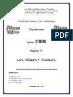 Rapport GSM, GPRS et GPS