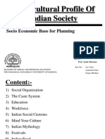 Socio-cultural Profile of Indian Society