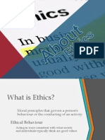 About Ethics