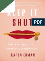 Keep It Shut Sample