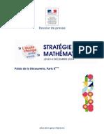 Stratégie Mathématiques - l'École Change Avec Vous