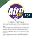 Afro Esc 30A Manual