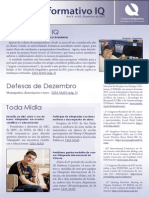 Informativo IQ - Dezembro de 2012