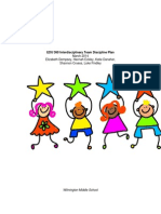 edu 360 interdisciplinary team discipline plan