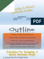 Choosing a Mixed Methods Design (PPT07)