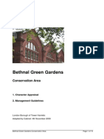 Bethnal Green Gardens Conservation Area