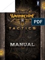 Warmachine Tactics Manual