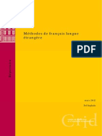 Methodes de francais langue etrangere