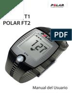 Manual Monitor Cardiaco FT1 FT2