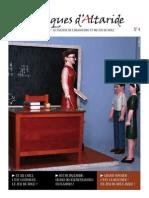Chroniques d'Altaride n°004 septembre 2012 La Rentrée