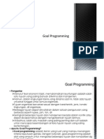 Goal Program Dan Dynamik