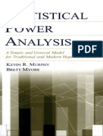 Power Analysis