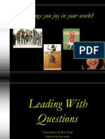 Leading With Questions Session Four (Draft Two) 12-12-07