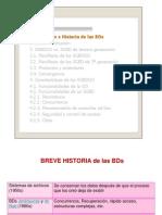 Historia de BD OO