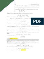 Corrección Segundo Parcial Cálculo III, 3 de diciembre de 2014 tarde