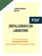 Crist Con Lab Lezione 11