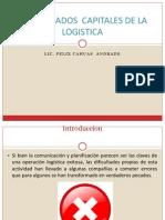 Siete Pecados Capitales de La Logistica 2013