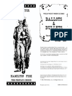 Boot Hill - Ballots & Bullets
