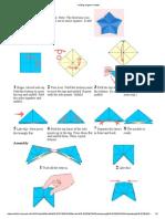 Folding Origami Models