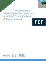 VMware Reference Architecture for Cisco EMC