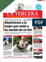 DIARIO LA TERCERA 4.12.2014