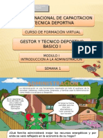 Introduccion a La Administracion - Fichas - Semana 1 - g08