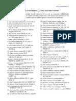 50 verbos latinos más frecuentes