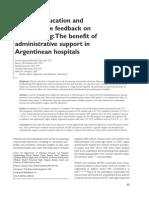 2003- AJIC- Handwashing Compliance- Argentina