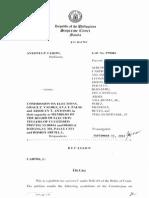 Barangay Elections c Case 1