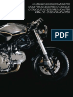 2001 DUCATI MONSTER ACCESSORY CATALOG