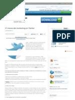 17 Claves Del Marketing en Twitter