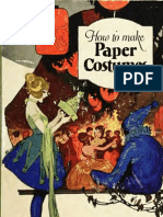 (1922) How to Make Paper Costumes