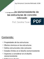 Respuesta Sísmica de Las Estructuras de CR_2014