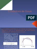 Cuadra Tura de Gauss