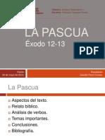 La Pascua, Ex 12-13